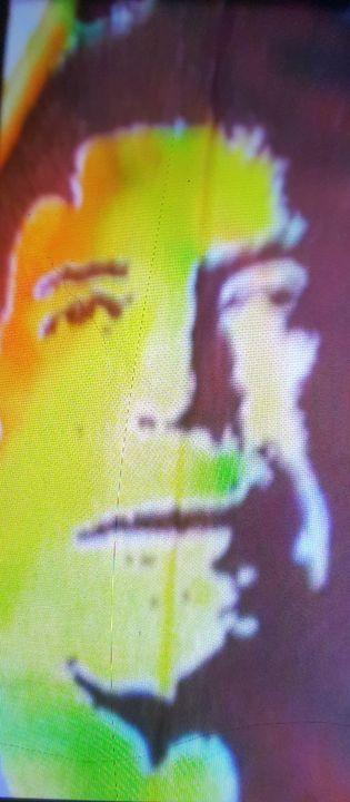 Lou Reed portrait #5 - Dark Castle Art
