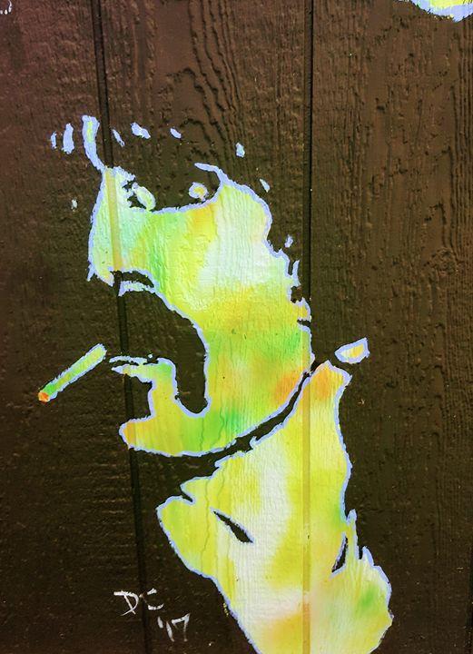 Frank Zappa yet again - Dark Castle Art