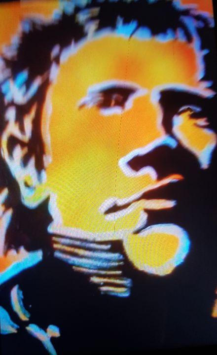 Johnny Rotten Snarls - Dark Castle Art