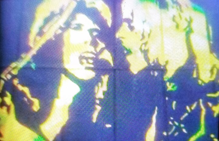 David Bowie and Mick Ronson - Dark Castle Art