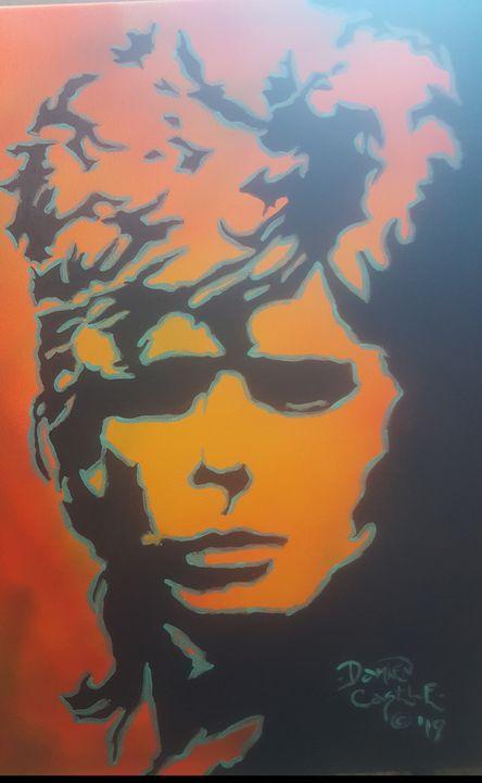 David Bowie circa Pin-ups - Dark Castle Art