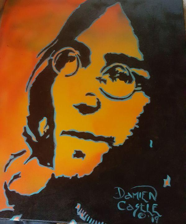 John Lennon - Dark Castle Art