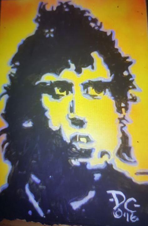 Mick Jones of The Clash - Dark Castle Art