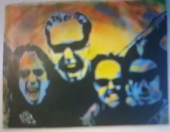 Metallica - Dark Castle Art