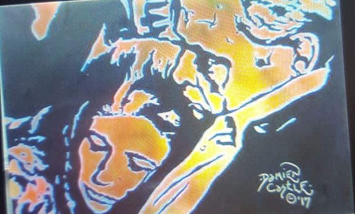 Johnny and June Carter Cash - Dark Castle Art