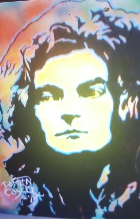 Robert Plant of Led Zeppelin - Dark Castle Art
