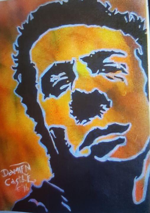 Joe Strummer of The Clash #2 - Dark Castle Art