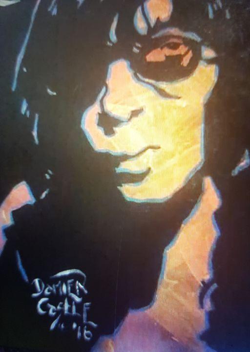Joey Ramone #2 - Dark Castle Art