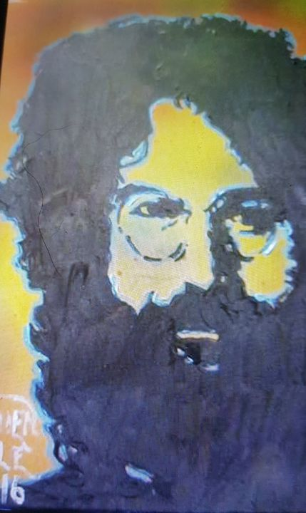 Jerry Garcia - Dark Castle Art