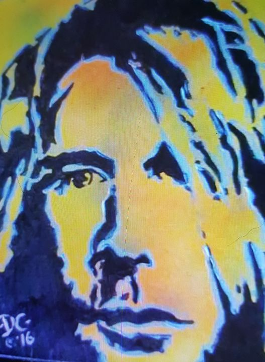Kurt Cobain #1 - Dark Castle Art