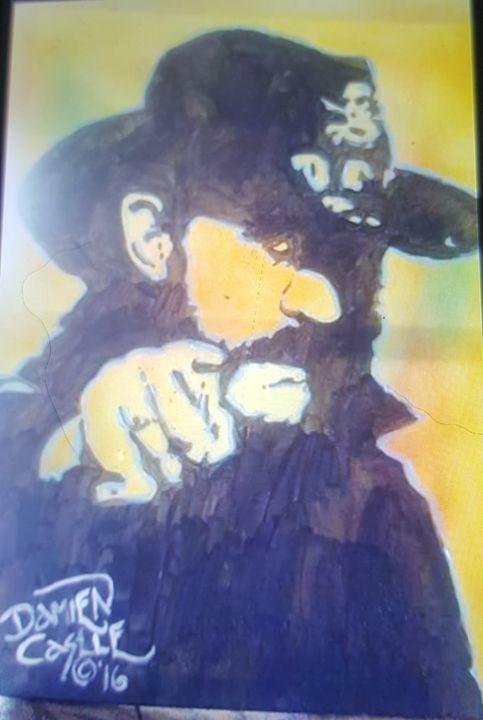 Lemmy of Motorhead #5 - Dark Castle Art
