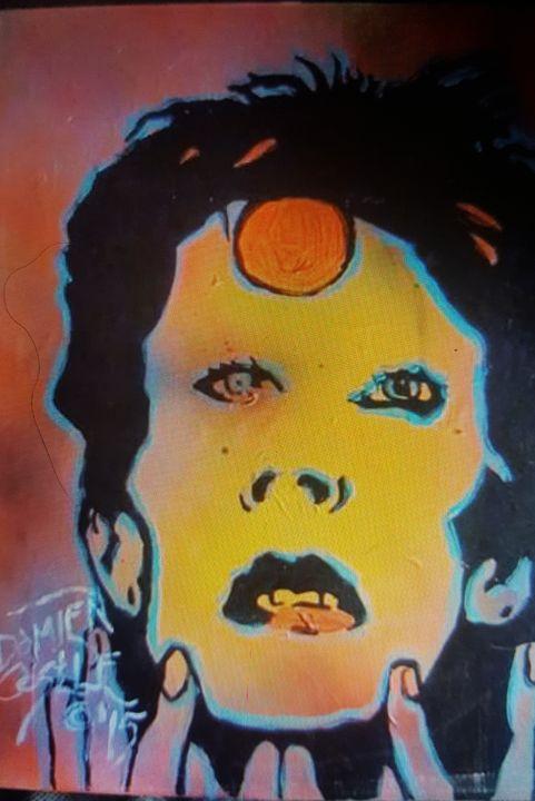 David Bowie Aladdin Sane - Dark Castle Art