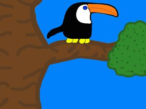 Toucan In Three