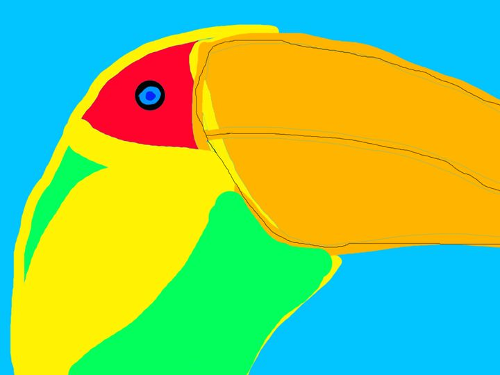 Bleu Eyed Toucan - King Toucan