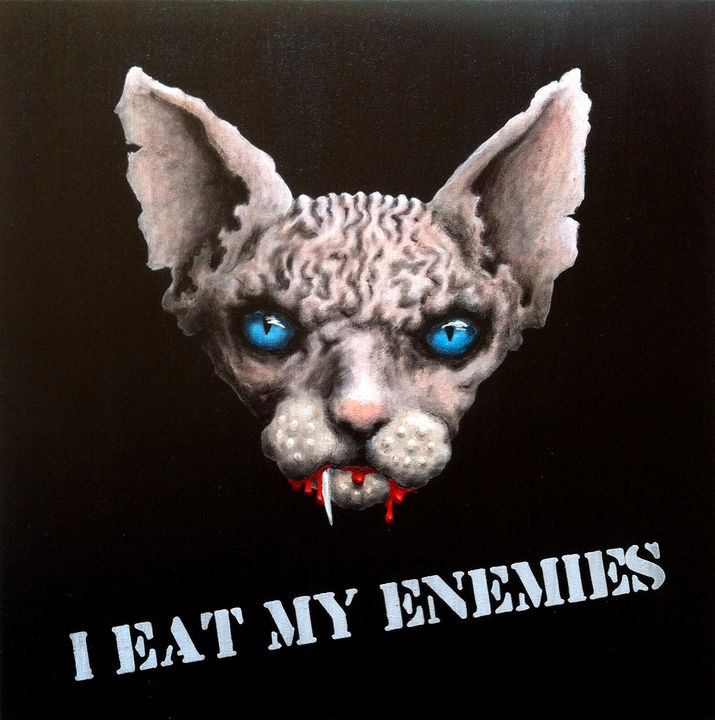 I eat my enemies - DZM