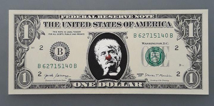Series clowns - Funny Trump 16/100 - DZM