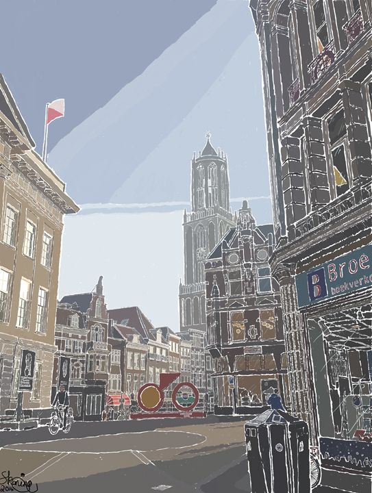 The Dom Tower, Utrecht - S Koning