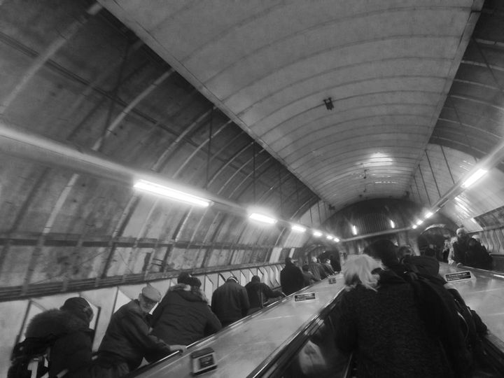 Looking up in the Underground - S Koning