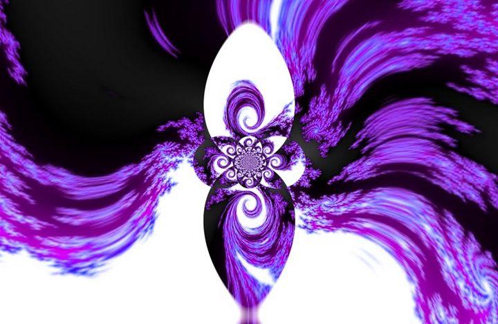 Infinite Waveform - Purple - Spannings Gallery