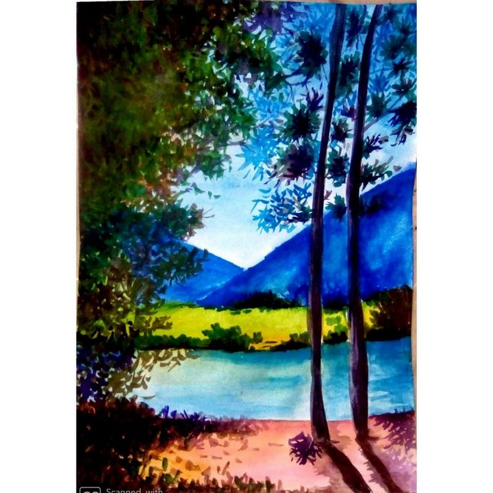 Nature Art - Creative colours