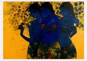 THE BLUE GIRLS