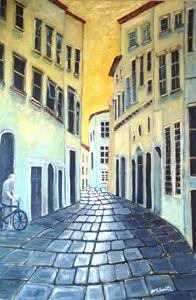 Cobblestone of Lucca
