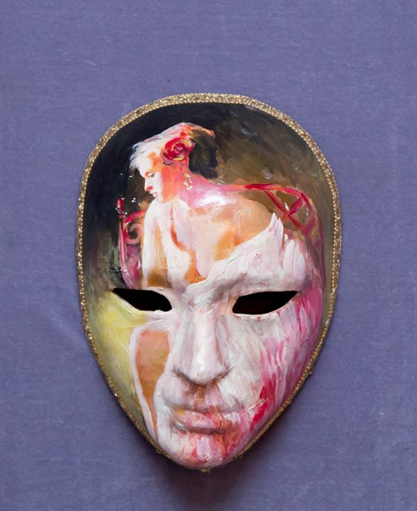 Ghost mask - Magic Gallery