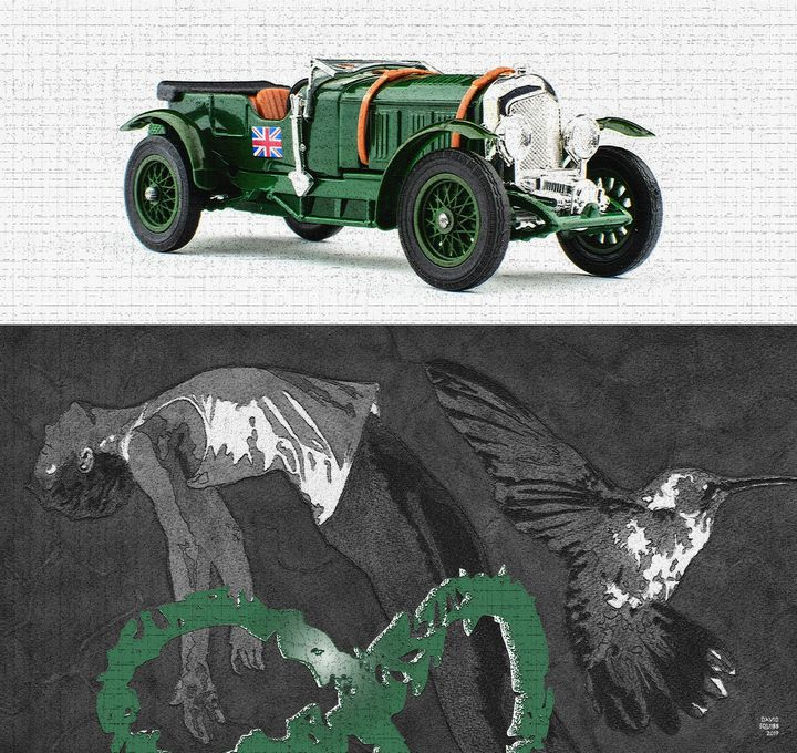 1928 Bentley - Auto-Graphica