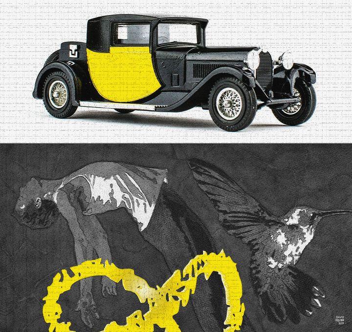 1928 Bugatti - Auto-Graphica