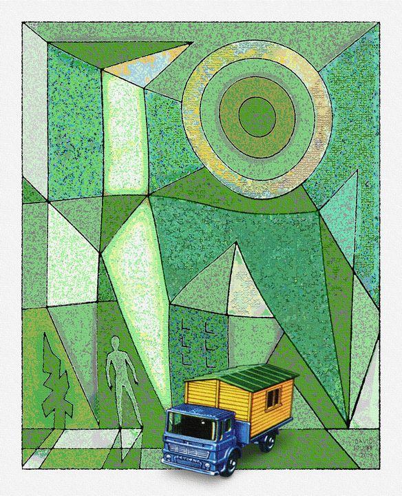 Site Hut Truck - Auto-Graphica