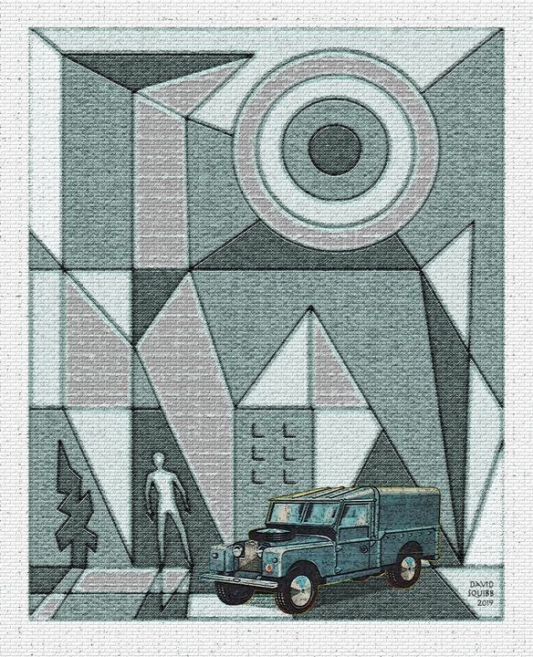 Land Rover R.A.F. Vehicle - Auto-Graphica