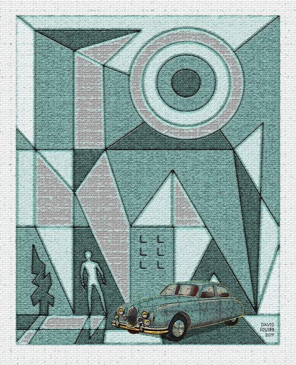 Jaguar Saloon - Auto-Graphica