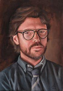 El Profesor Original Oil Painting