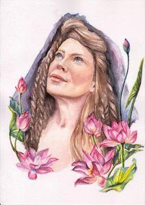 """Flower Chid"" Print"