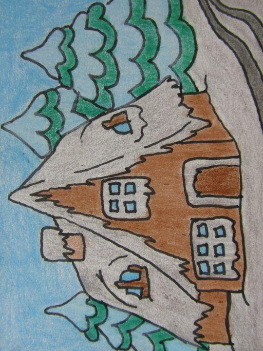 Snowy Cottage - Gary Braniff