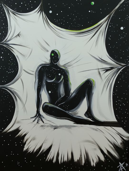 In Search for Self: Rest on the way - Alex Zvagin Fine Art