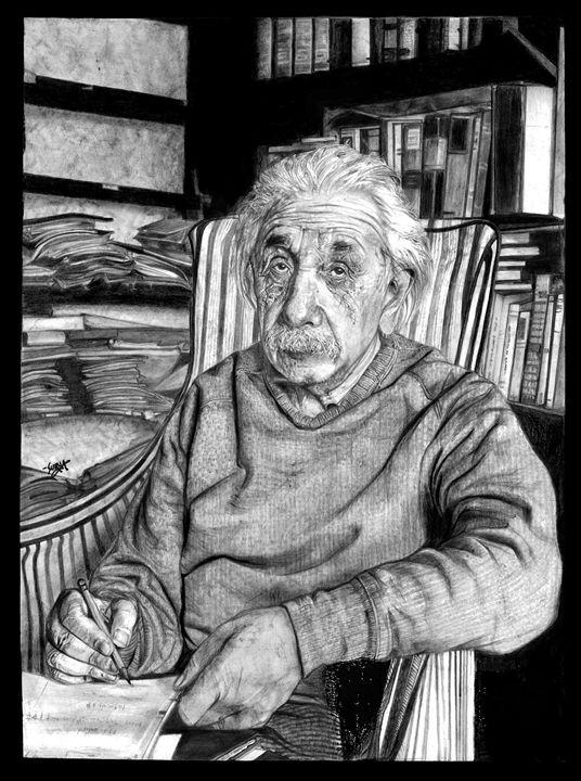 Albert Einstein - Surya Balu's Art Corner