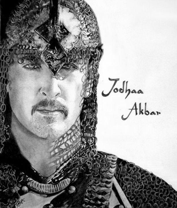 Jodhaa Akbar - Surya Balu's Art Corner