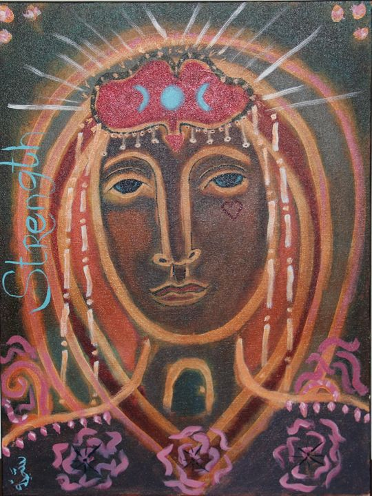 She Who Is Strength - Soulful Emergence Art Gallery