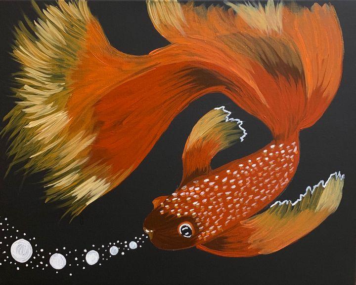 Feeling Fishy? - SimplySag Paintings