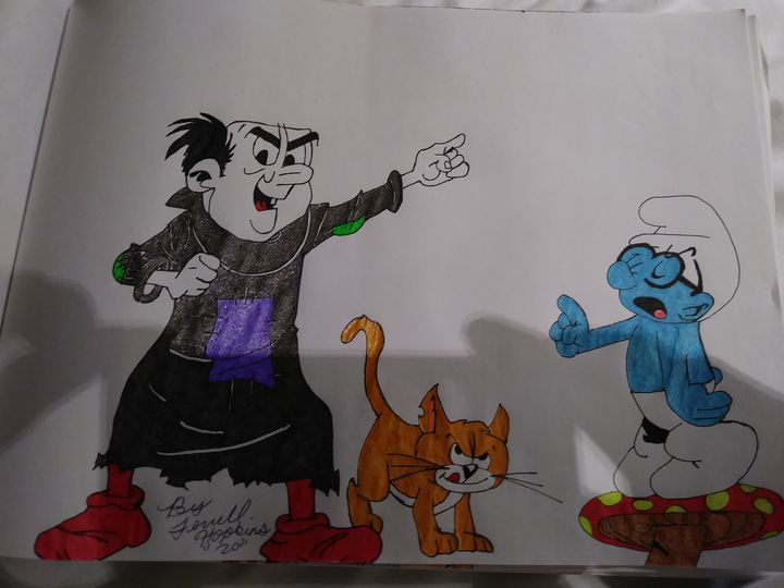 Smurfs - Terrell cartoons