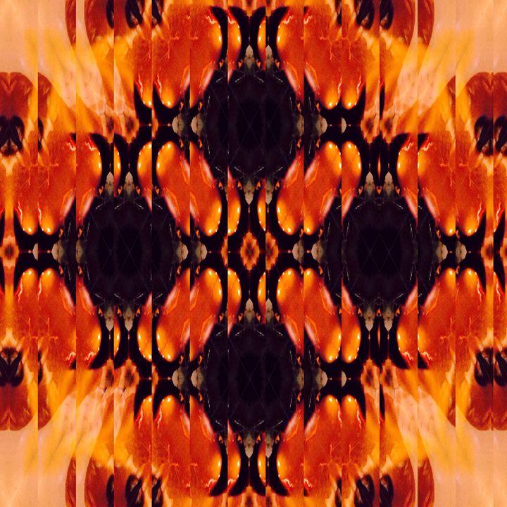 Rippled Fire Flower - Cai-Mera
