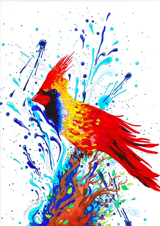 Go Cardinals! - Pastel Palette