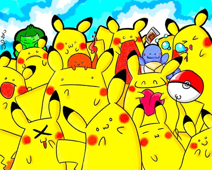 Pikachu Powow - Pastel Palette