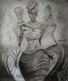 Original Drawing of Black Beauty