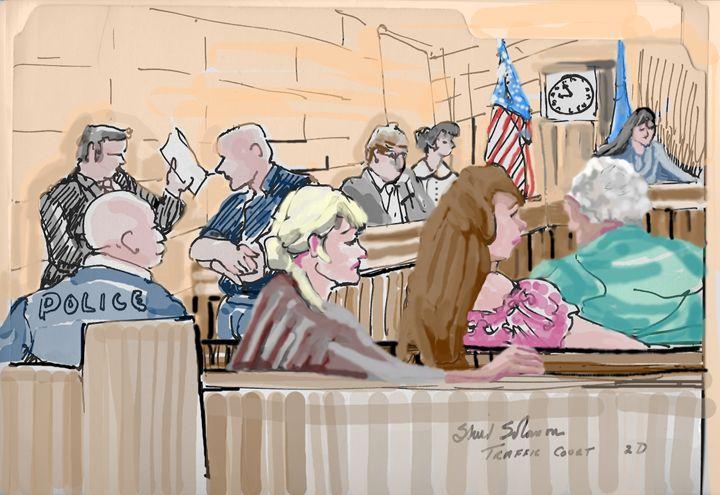 Florida Traffic Court Fiasco - Shirl Solomon
