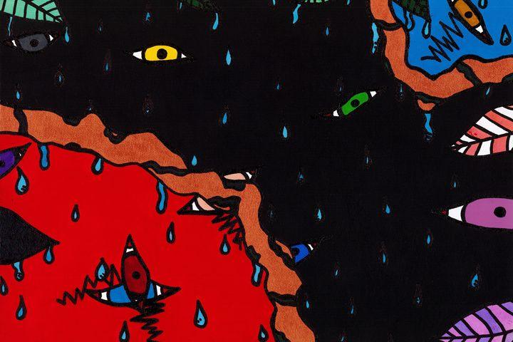 Lost in the Rain - Jesse Whitfield Art