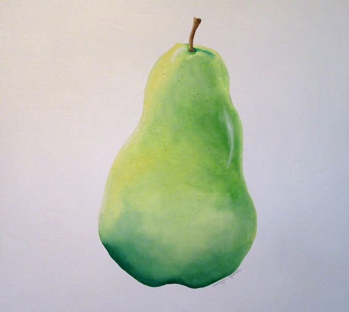 Green Pear - Amy L. Jones