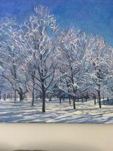 Snow Park by the artist Shinya Kumaz