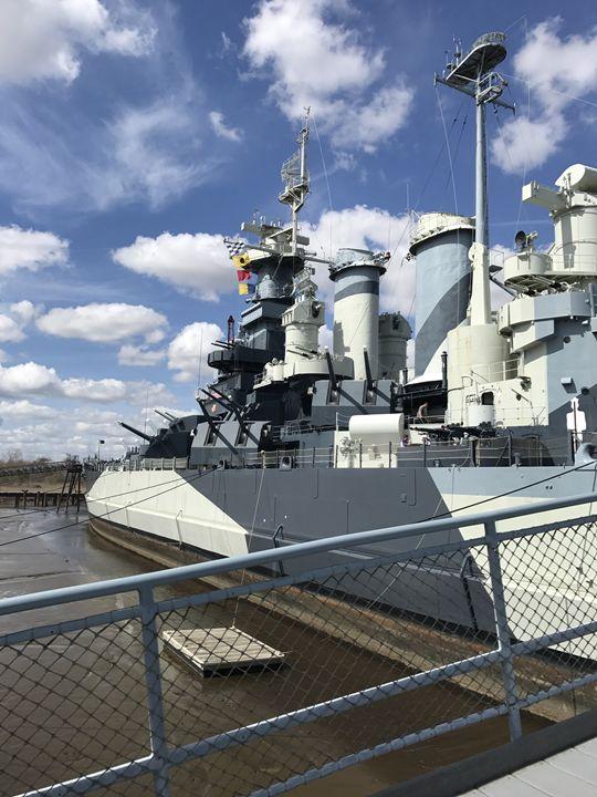 Battleship North Carolina - K. Herring